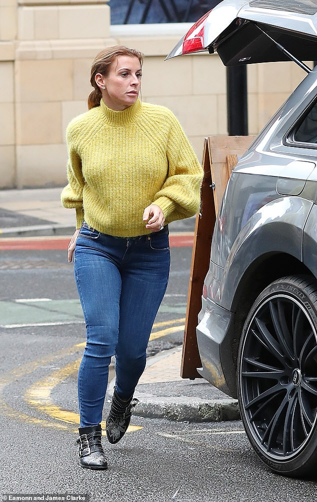 War of the WAGs:Coleen accused fellow WAG Rebekah on Wednesday after she set up a elaborate ploy to find out who was selling stories from her private Instagram account
