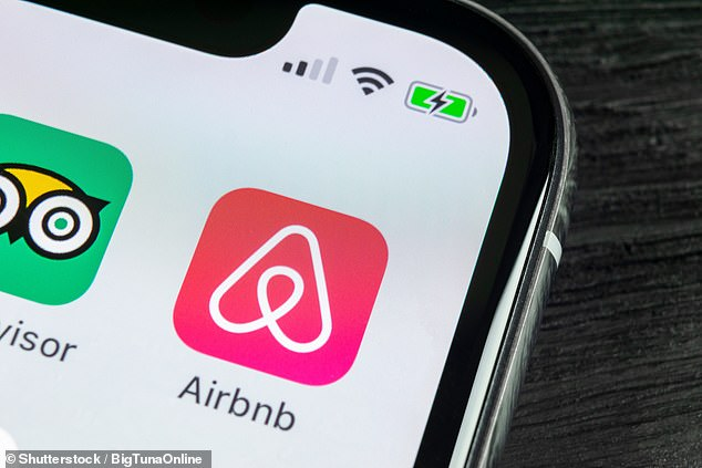 Airbnb sent an email out to its Australian members on Thursday night, warning that their personal details would be given to The Australian Taxation Office (file image)