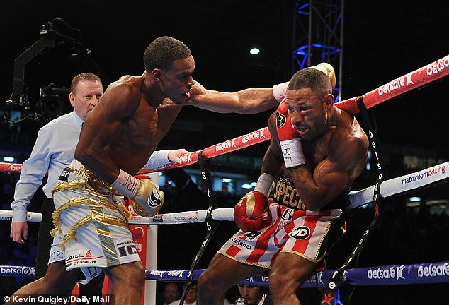 Spence won the IBF world welterweight title when he beat Kell Brook in Sheffield in 2017