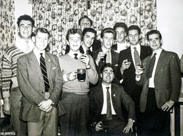 Spike is pictured above in his earlier years with other comrades. Joined the RAF in Weston-super-Mare, North Somerset