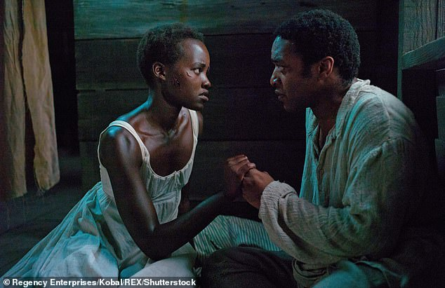 Iconic: She shot to worldwide fame when she won an Academy Award for 12 Years A Slave in 2014