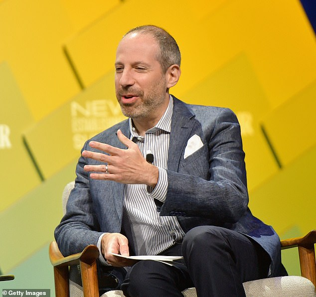 Veteran NBC staffers had a heated call with the president of NBC News, Noah Oppenheim (pictured) on Thursday, DailyMail.com has learned.They grilled Oppenheim on the revelation Wednesday that Brooke Nevils claimed Lauer sexually assaulted her in Russia in 2014