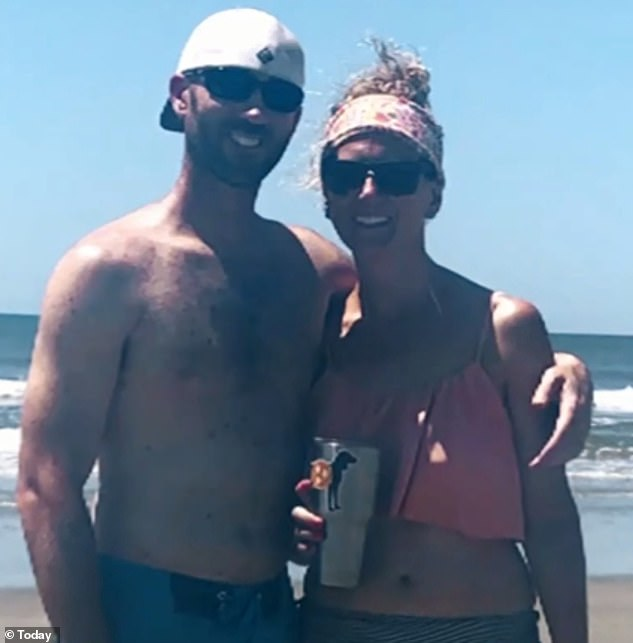 Throwback:The mother-of-two explained that she and her husband, Travis, had started dating in high school and have been together for a long time