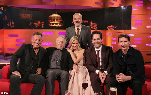 On air: Fans can tune into The Graham Norton Show when it airs at 10.35pm on BBC One this Friday night