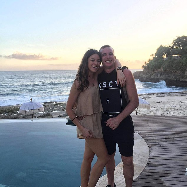 By June this year Brock had recovered so well with the love and support of family and friends that he was able to take a holiday in Bali