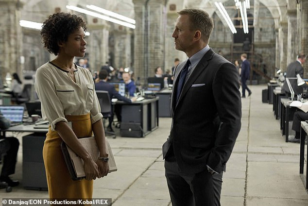 Change: The Skyfall star's latest interview comes after she warned fans to expect a radically different James Bond when the franchise returns (pictured with Daniel Craig in 2012)