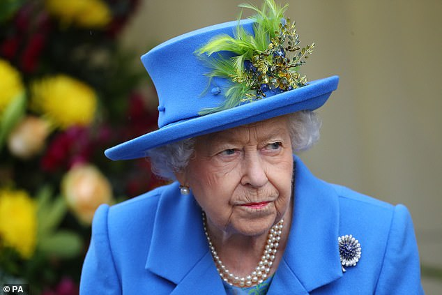 Her visit to the comes as her unusual code name was revealed this week, according to a royal source