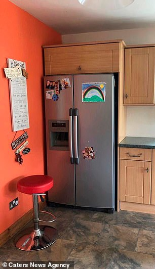 Jennie spent three weeks giving her kitchen the dream makeover (before)