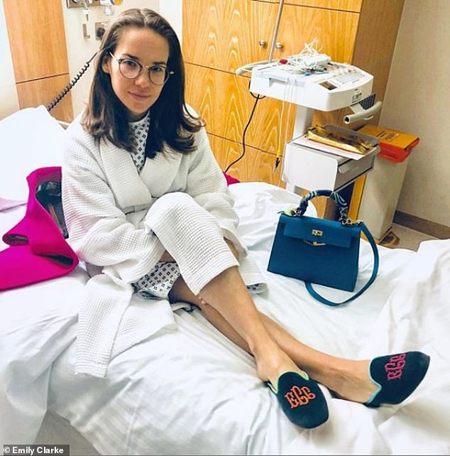 'Without the support of my husband, to whom I've been married for four-and-a-half years, I have no idea how I would survive,' Emily told FEMAIL