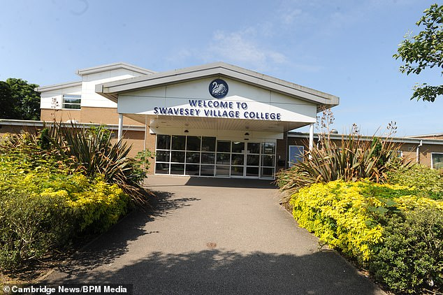 Mother Lizz Mayers claimed the only reason Josh was taken out of lessons was because he was wearing Tesco trousers rather than the more expensive David Luke ones that can only be bought from the school's official uniform suppliers. The college is pictured above