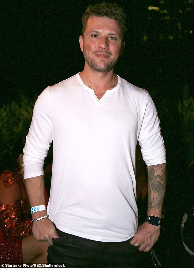 He's finished with it: Actor Ryan Phillippe, seen at an event in Miami in 2018,  has settled with his ex-girlfriend Elsie Hewitt out of court after she sued him for $1 million in 2017 assault case; seen in 2018