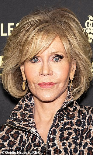 Fonda famously protested the Vietnam War in the past