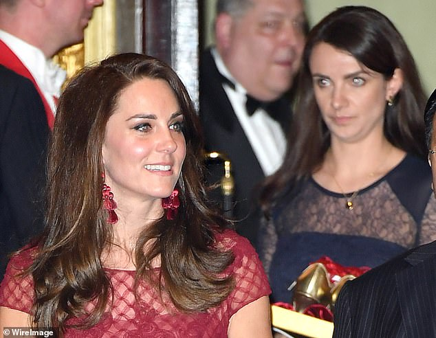 The Duchess of Cambridge fired one of her most loyal collaborators, Sophie Agnew (right)