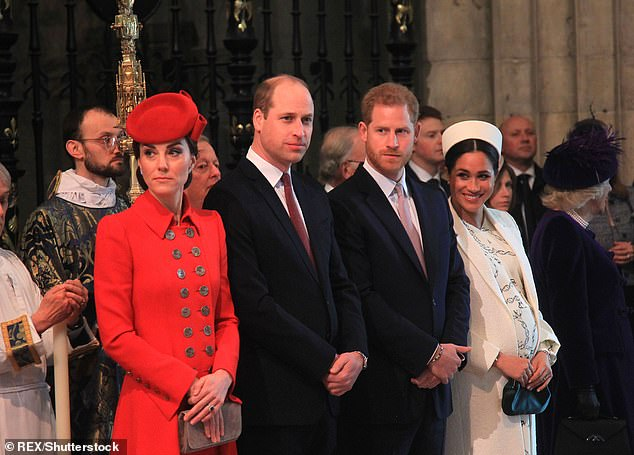 Palace sources declare that Sophie is a victim of the great separation between Prince William and Harry