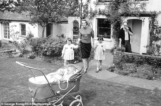 It had all started with a note from Olivia's headmistress that notified all parents of a measles outbreak at her school. Pictured: The family at their home in Buckinghamshire