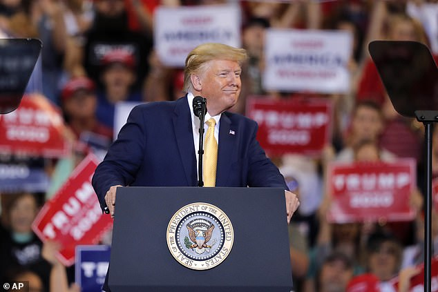 At a rally in Louisiana on Friday evening, Trump bragged that US agricultural imports could rise in the first phase of a deal to end a trade war with China