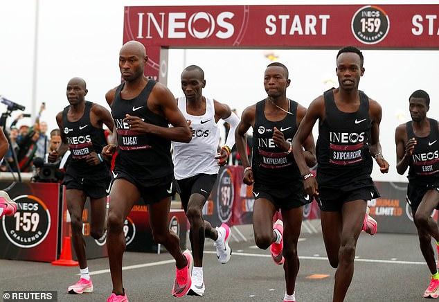 The Kenyan marathon man is attempting to run the first sub-two hour marathon in Vienna