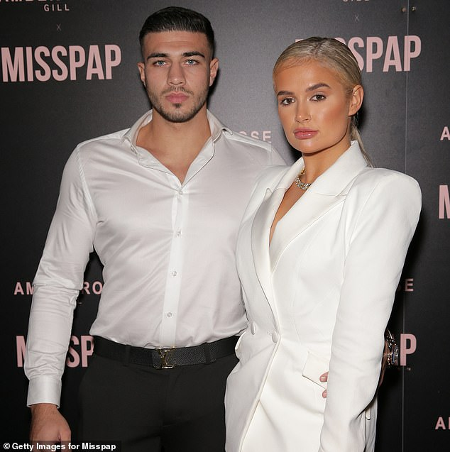 Tommy Fury (left) and Molly-Mae Hague (right) also attended the fashion bash in London on Friday