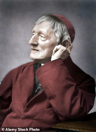 Cardinal John Henry Newman (pictured) will be canonised in Rome tomorrow
