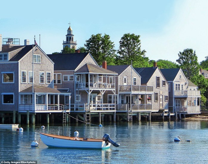 Besides Rhode Island, New England consists of Massachusetts, Maine, Connecticut, New Hampshire, and Vermont, plus the enduringly fashionable islands of Martha's Vineyard and Nantucket (pictured)