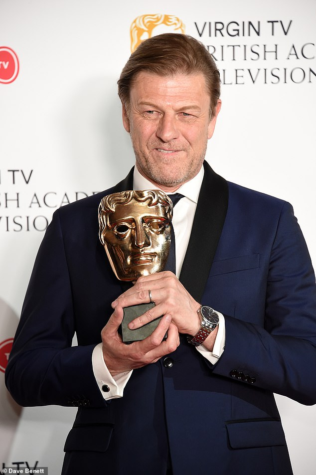 Next act! British actor Sean Bean (pictrued) has opened up about paying homage to his late grandfather in the new BBC First wartime series World On Fire
