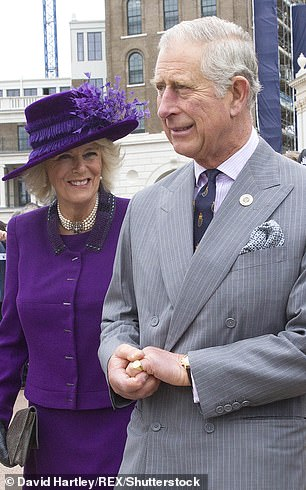 The Duchess of Cornwall also appears in the documentary, revealing how important the estate is to the prince (pictured together)