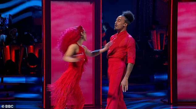 Progress:Although the pair's performance was technically strong, the judges noted that they need to show more personality and 'really sell' the dance, and they scored 27 points out of 40