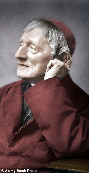 Prince Charles has said the example of Cardinal Newman (pictured) is 'needed more than ever'