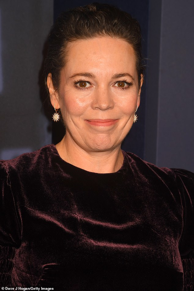 'Left-wing face':Spectator columnist Charles Moore claimed the actress Olivia Colman has that feature about her visage