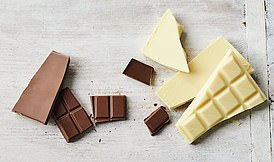 Tempering chocolate is a process of heating and cooling chocolate to a particular temperature to produce chocolate that is shiny and has a good snap