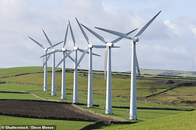 Analysis by National Grid in June suggested that for the first time since the Industrial Revolution more British electricity was set to come from zero-carbon sources, which includes wind, solar, hydro and nuclear [File photo]