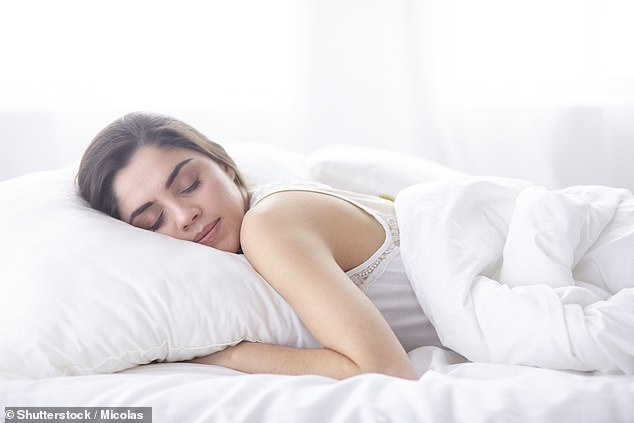 If you like to sleep on your stomach, it's considered far better to choose a pillow that's as thin as possible to help keep the spine straight