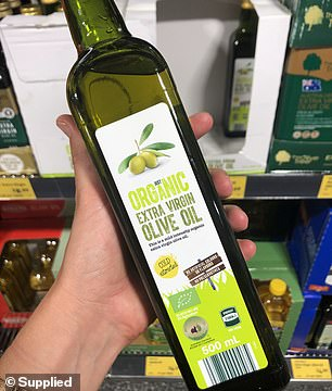 Just Organic Extra Virgin Olive Oil, priced at $4.69 should be consumed as part of a healthy diet