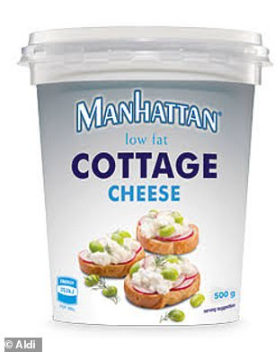 Manhattan Low Fat Cottage Cheese is high in protein to help maintain lean muscle mass