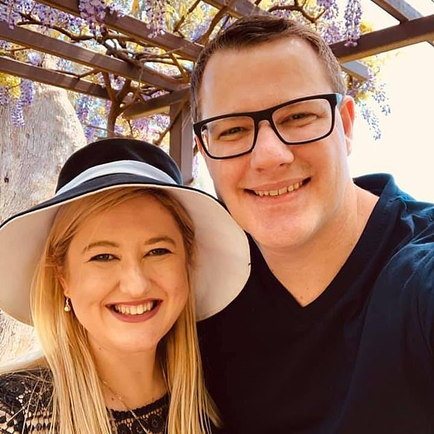 Rachael and her husband Brenton lost two unborn babies in the space of five months