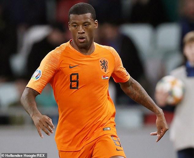 Wijnaldum scored twice as Holland beat Belarus to continue their quest to reach Euro 2020