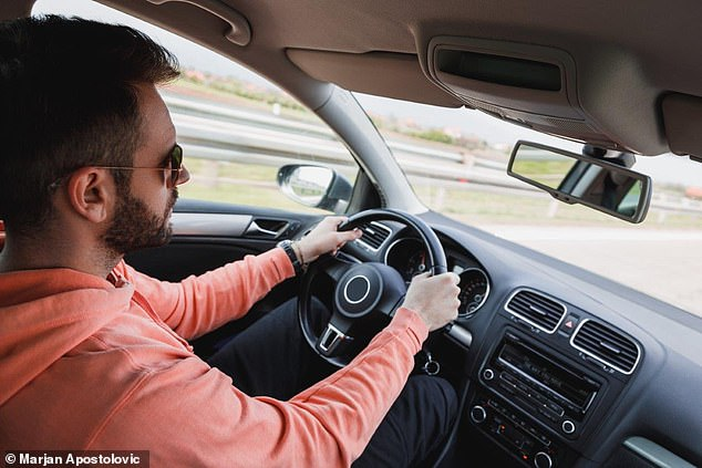 Drivers are more likely to crash their car if a dangerous obstacle appears while their heart is contracting, according to scientists (stock image)