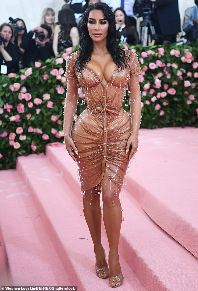 Met look: In this week's episode of Keeping Up with the Kardashians, she and Kanye exchanged words over her Met Gala look from May