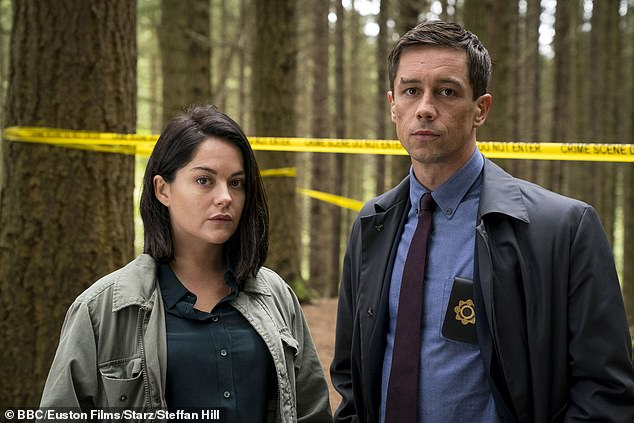 Dublin Murders: Cassie Maddox played by Sarah Greene and detective Rob Reilly played by Killian Scott