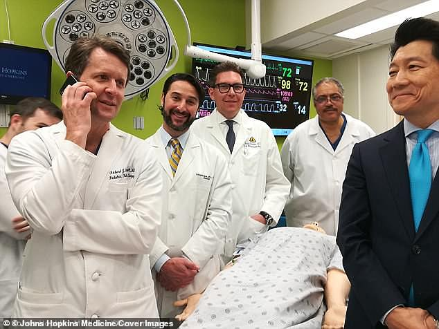 In 2013, the veteran met with a plastic surgeon, Dr Richard Redett (see left) of Johns Hopkins Medicine in Baltimore, who said he was the perfect candidate for a penile transplant