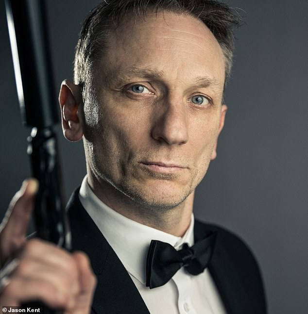 Jason (pictured) hopes that one day he will get the chance to meet the real Daniel Craig, who he bears a striking resemblance to