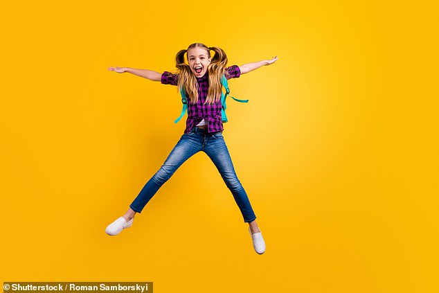 Researchers found children who learnt to count in lessons by jumping on the spot went on to perform better on maths tests
