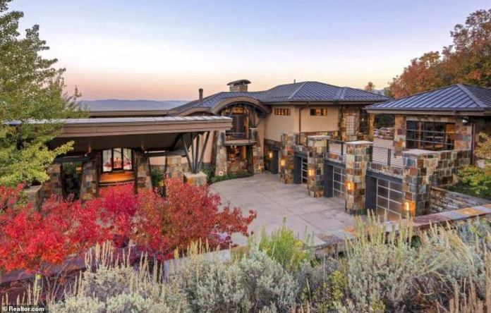 The incredible pad nestled in the famous Park City community was custom-built for the basketball legend in 2006 - and has been kitted out with the all the latest luxuries a famous sports star would need