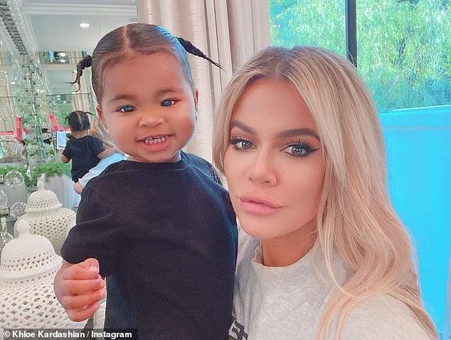 Maman et moi: Khloe partage sa fille d'un an, True, avec son ex-petit ami Tristan Thompson