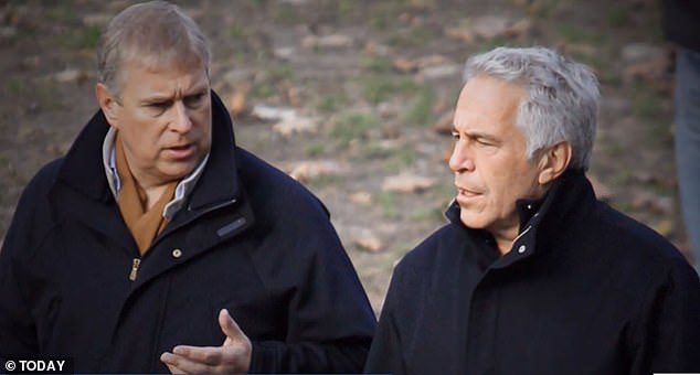 Prince Andrew has been challenged by a US lawyer to speak to prosecutors about his friendship with paedophile Jeffrey Epstein (pictured together)