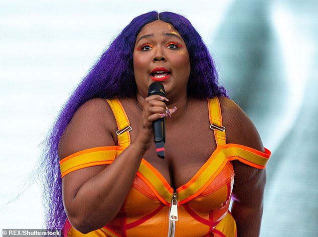 Yikes: For the second time, one Lizzo's most iconic lines— 'I just took a DNA test turns out I'm 100 percent that b***h'— is under contention over who penned it