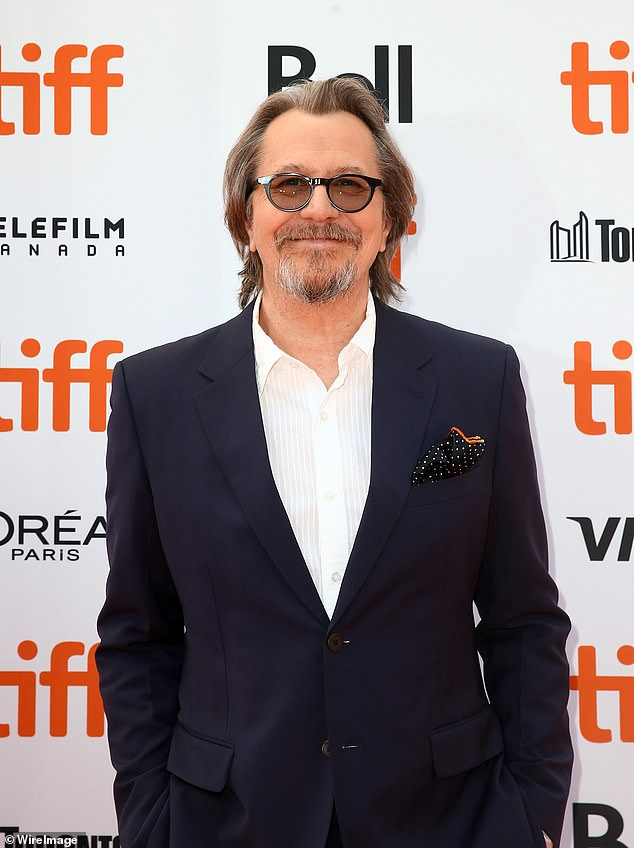 Leading the charge: Oscar-winner Gary Oldman (snapped in Toronto last month) plays the titular role in the period piece