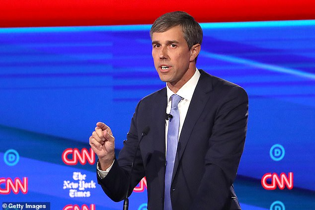 The controversial pundit took to his social media after the Democratic Presidential Candidate Debate in Ohio to voice his doubt at O'Rourke's claim