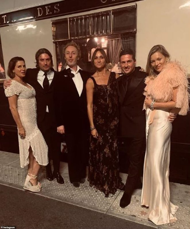 Wow!So naturally, where Kate Moss goes, lavish bashes commence - as proved on Monday when the star joined Sadie Frost, David Gardner and a legion of pals to ring in James Brown's birthday on the Orient Express train, where a luxury suite for the evening will land riders with a bill of £6,200 per person