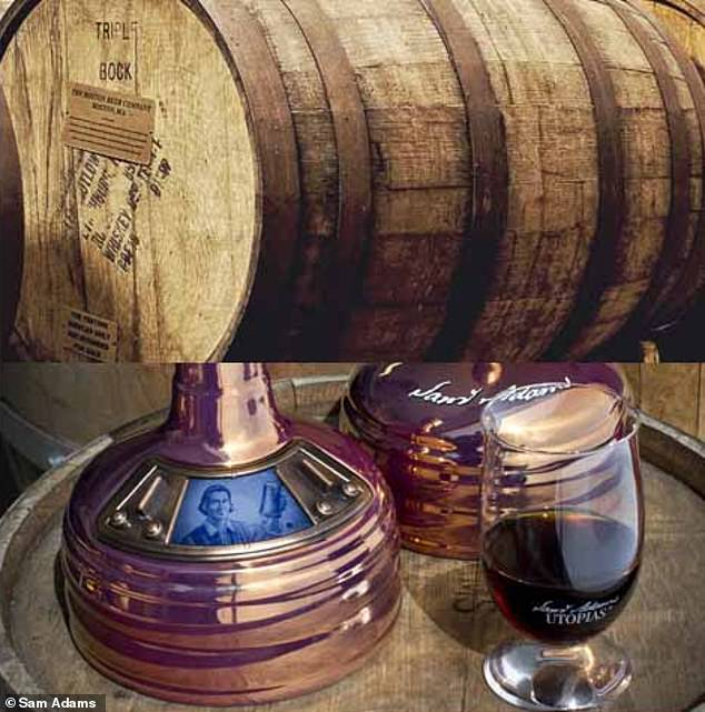 The master brewers used Cognac and Madeira barrels to finish the beer and provide it with its rich and complex flavor